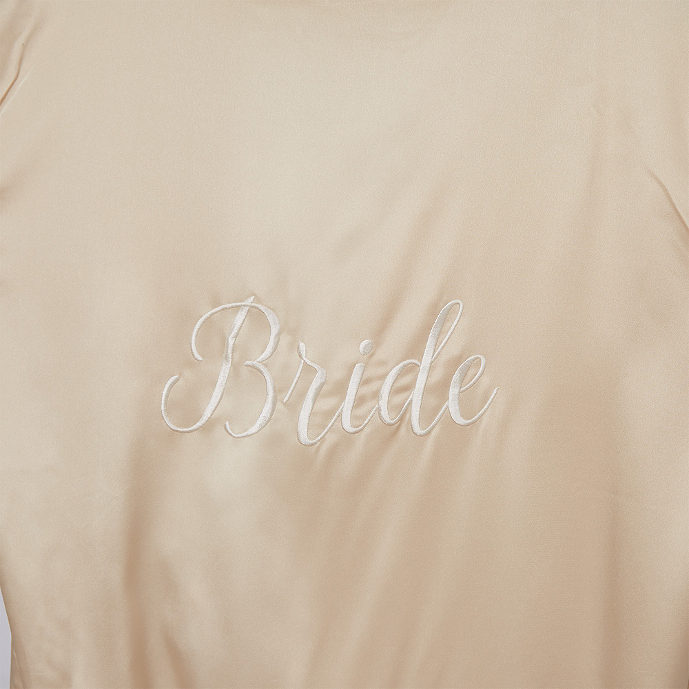 Nav Item for Champagne Bride Robe Image #2