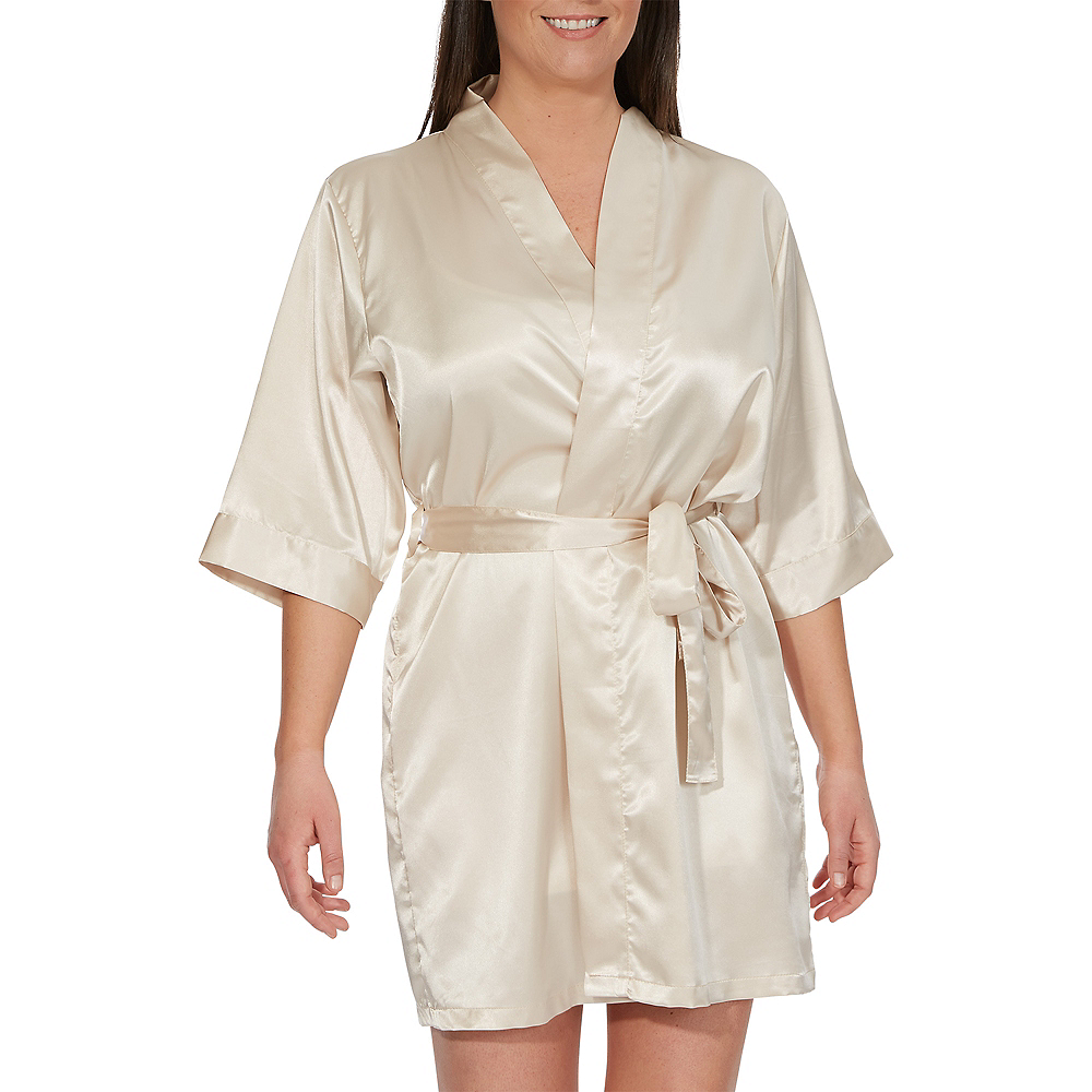 Champagne Maid of Honor Robe Image #1