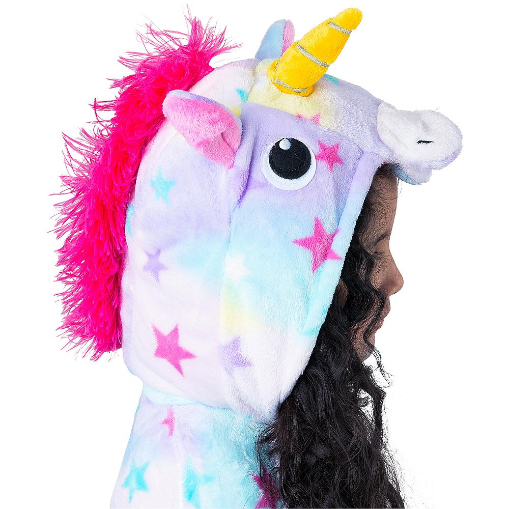 Child Zipster Pastel Unicorn One Piece Costume Image #4