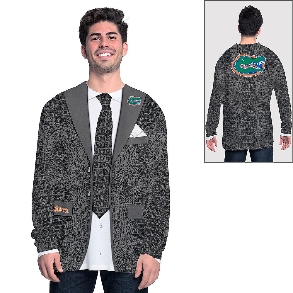 Mens Florida Gators Green Skin Suit Long-Sleeve Shirt Image #1