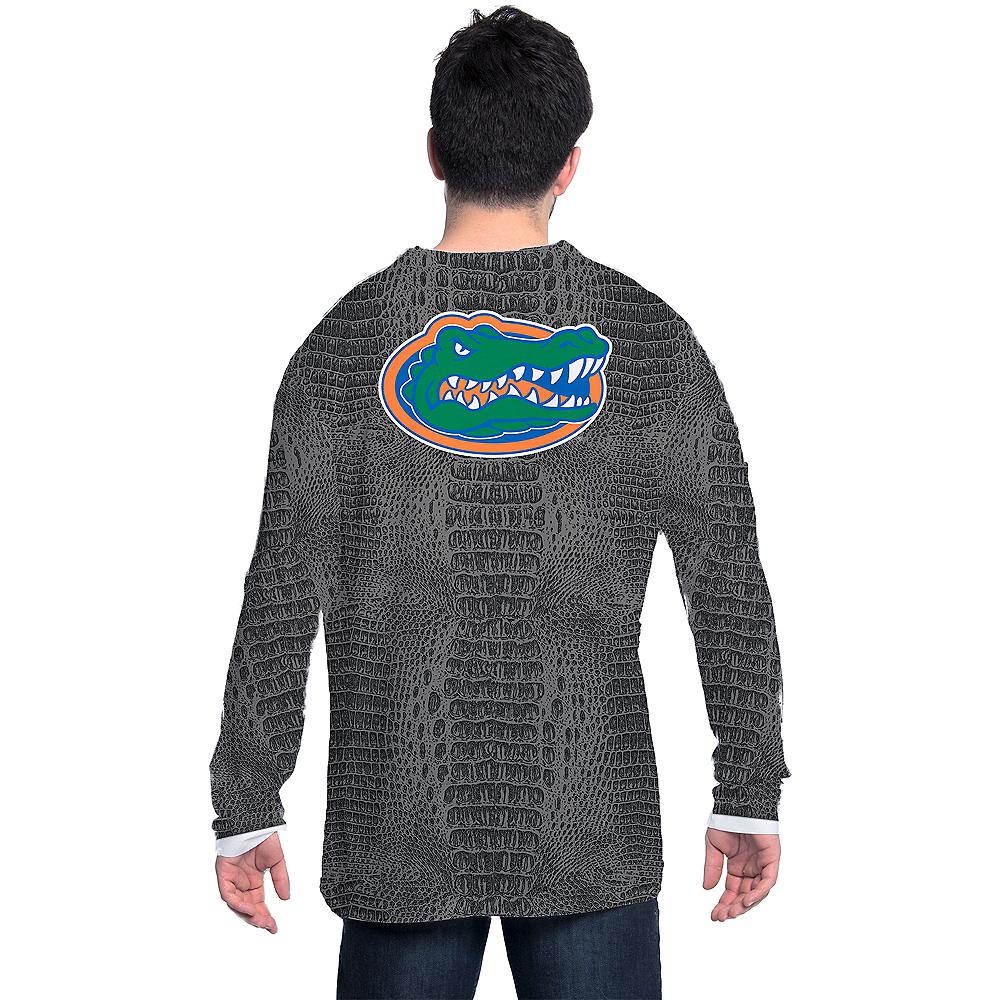 Mens Florida Gators Green Skin Suit Long-Sleeve Shirt Image #2