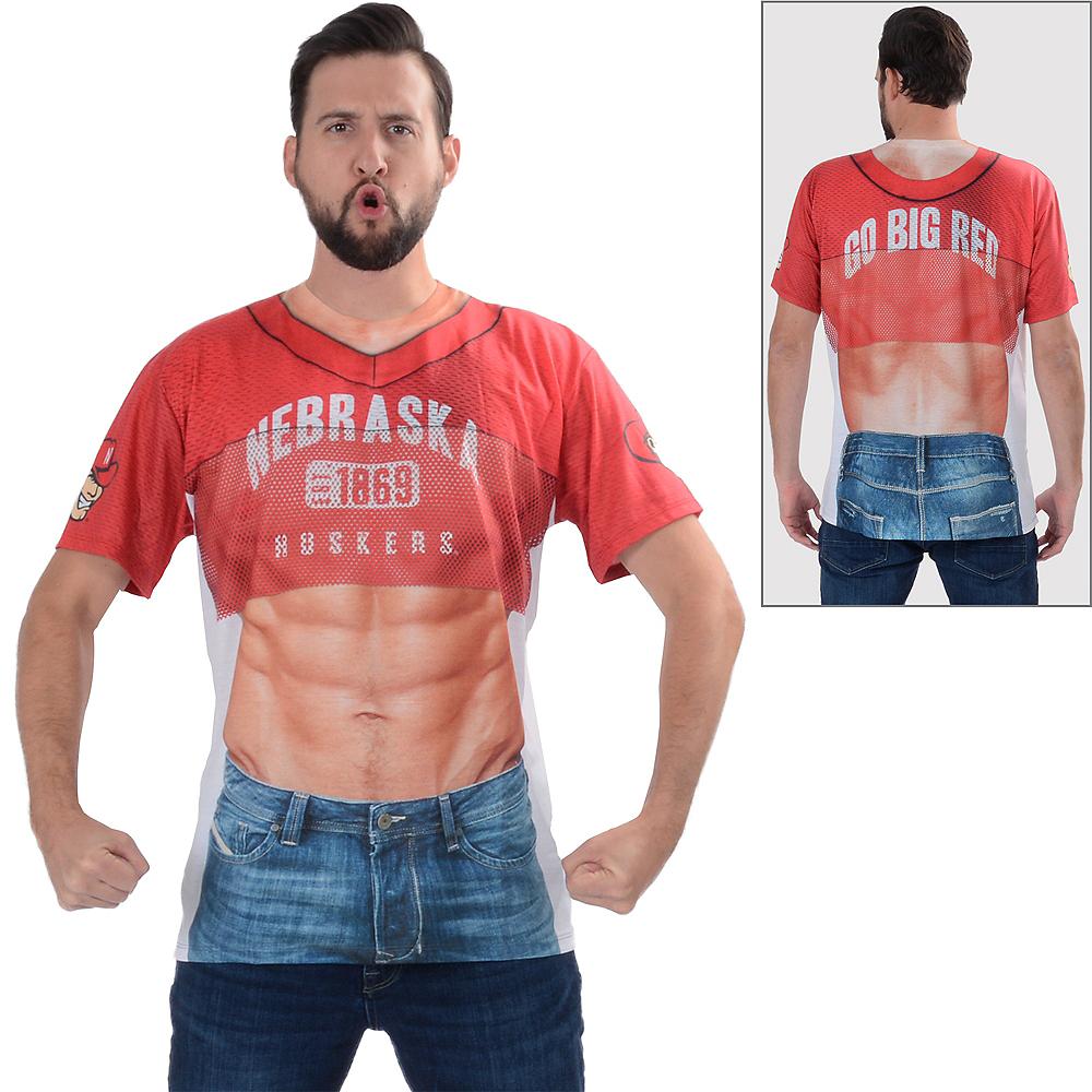 Mens Nebraska Cornhuskers 6-Pack T-Shirt Image #1