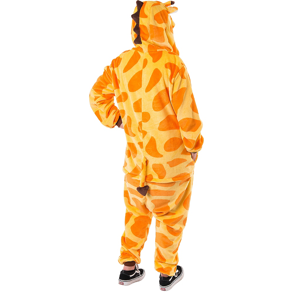 Adult Zipster Giraffe One Piece Costume Image #2