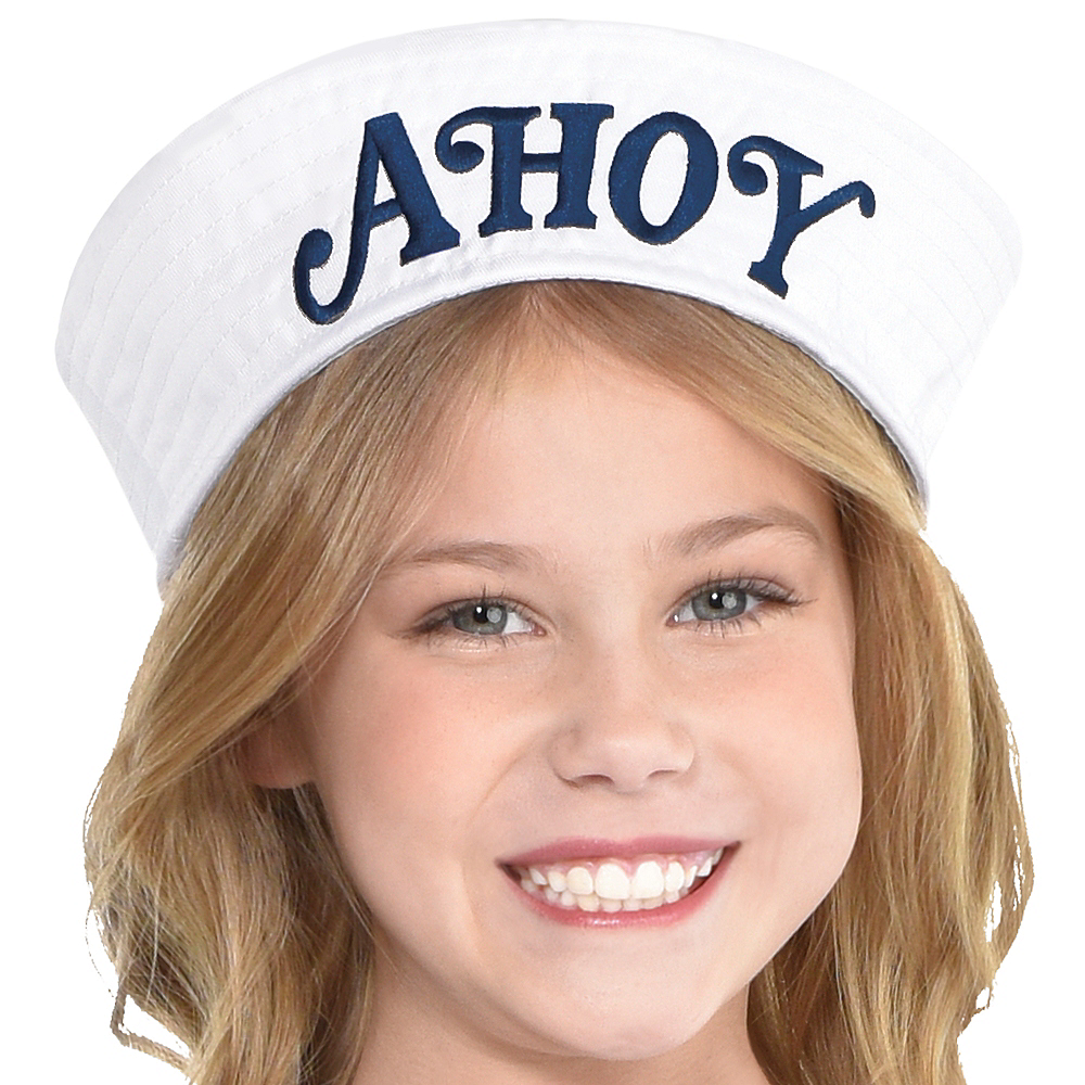 Nav Item for Child Robin Scoops Ahoy Costume - Stranger Things Image #2
