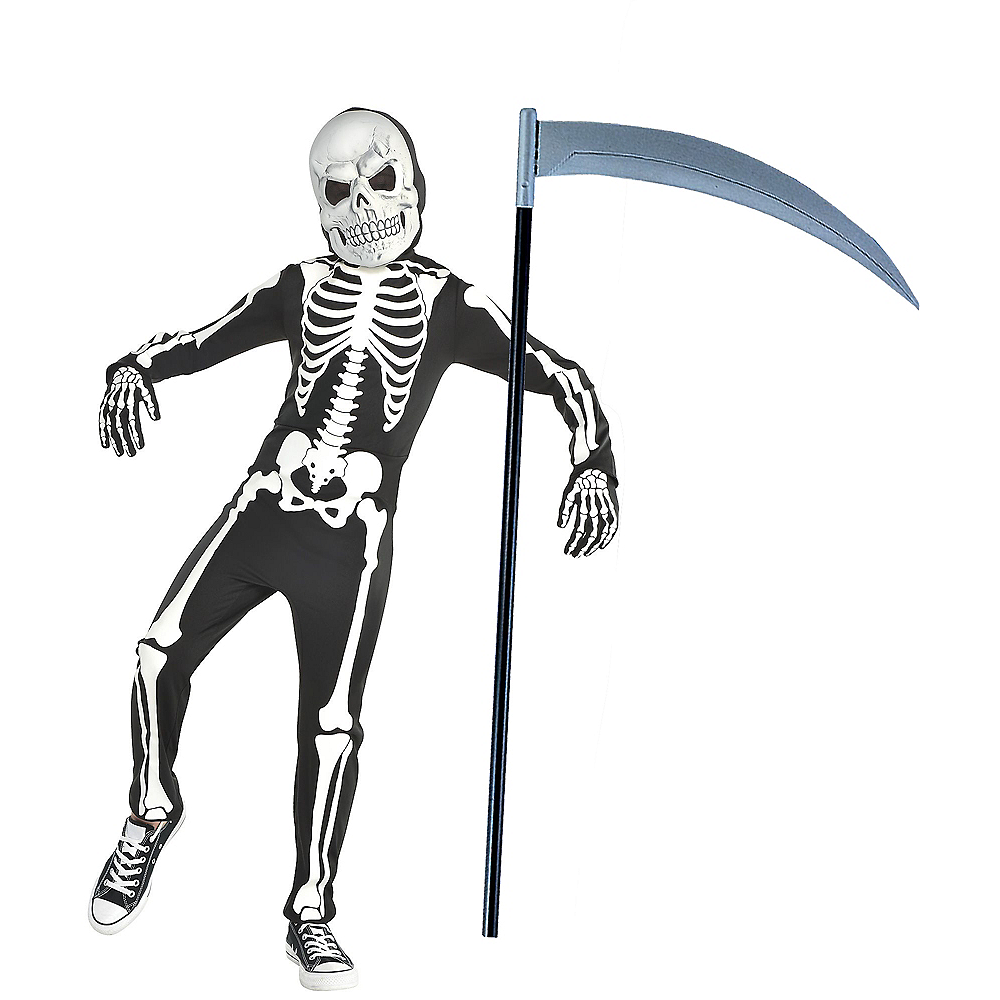 39615073c4 Child Skeleton Gamer Skin Costume Kit