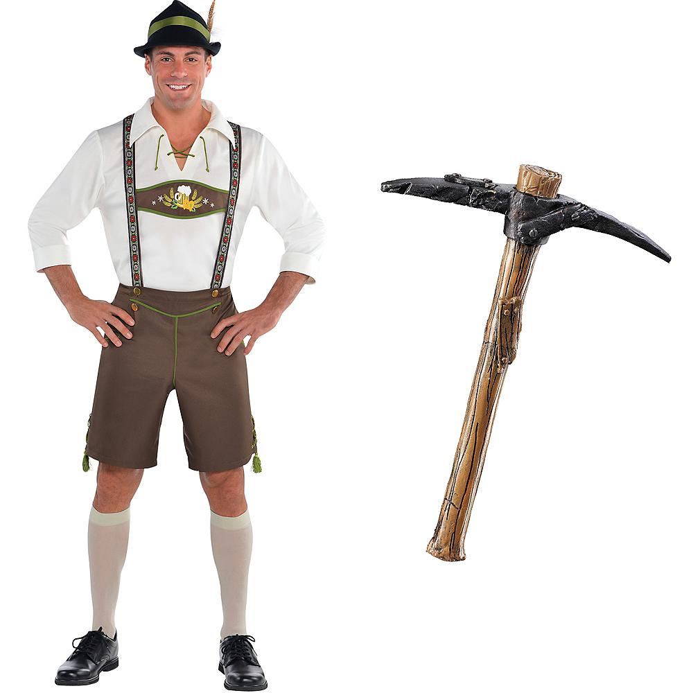 Mens Oktoberfest Gamer Skin Costume Kit Image #1