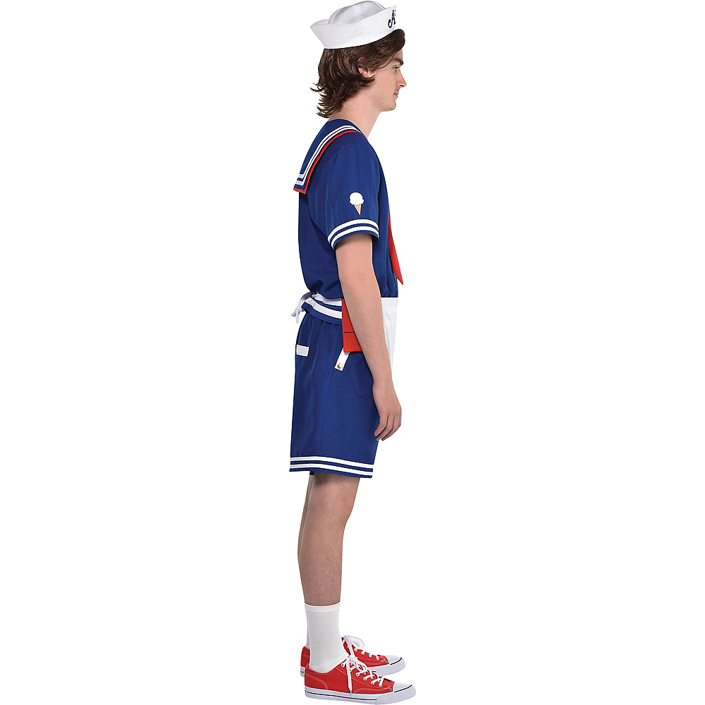 Adult Steve Scoops Ahoy Costume - Stranger Things Image #2