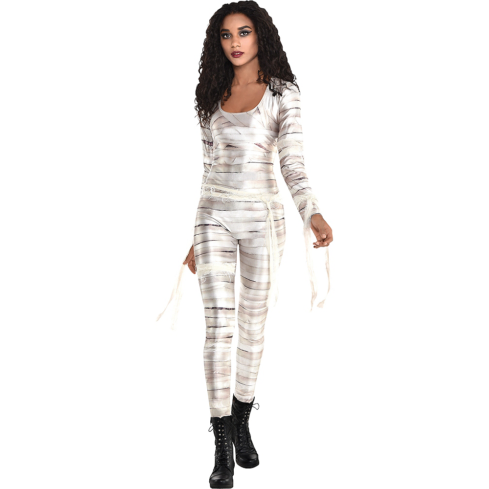 Nav Item for Adult Mummy Catsuit Image #1