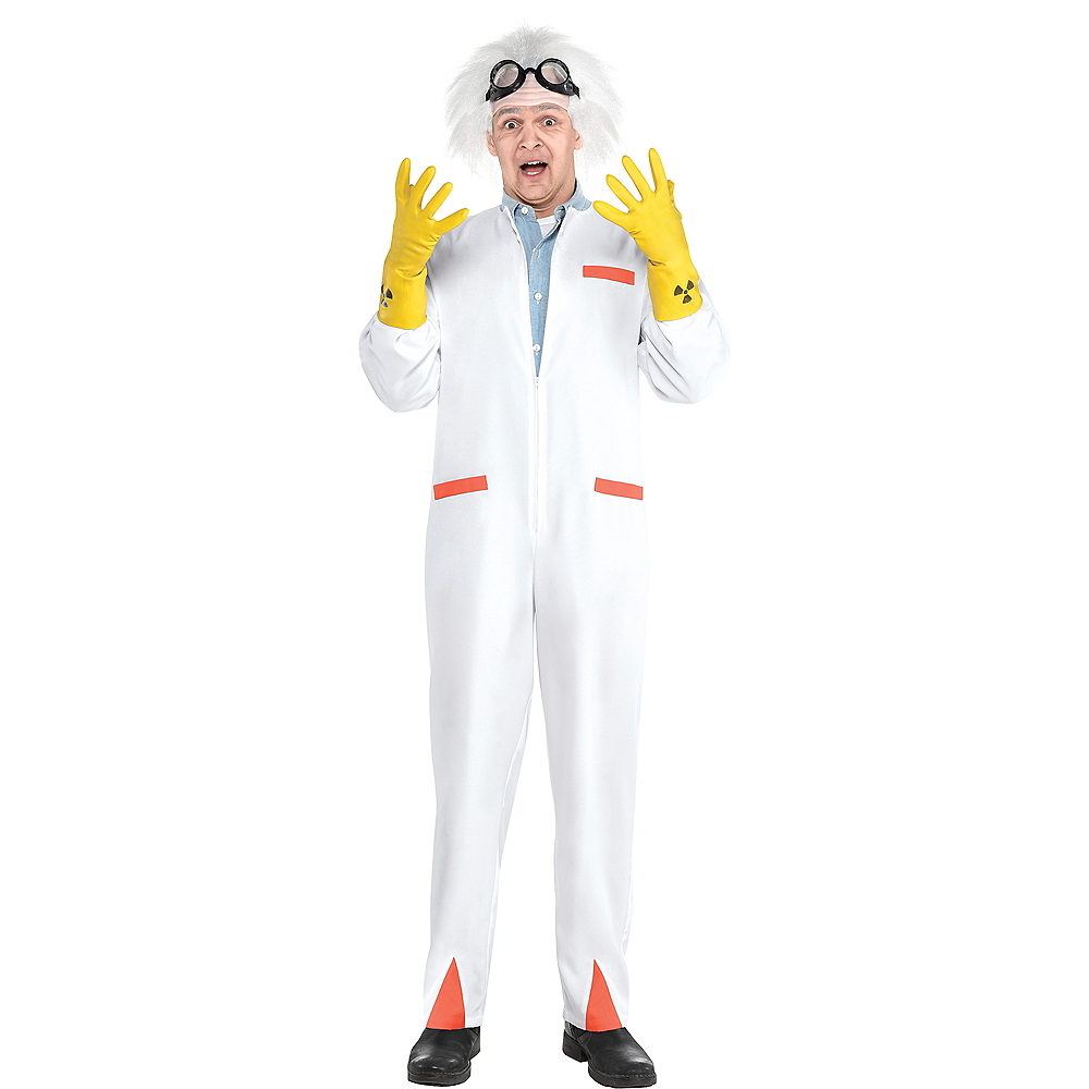 Adult Doc Costume Accessory Kit - Back To The Future Image #1