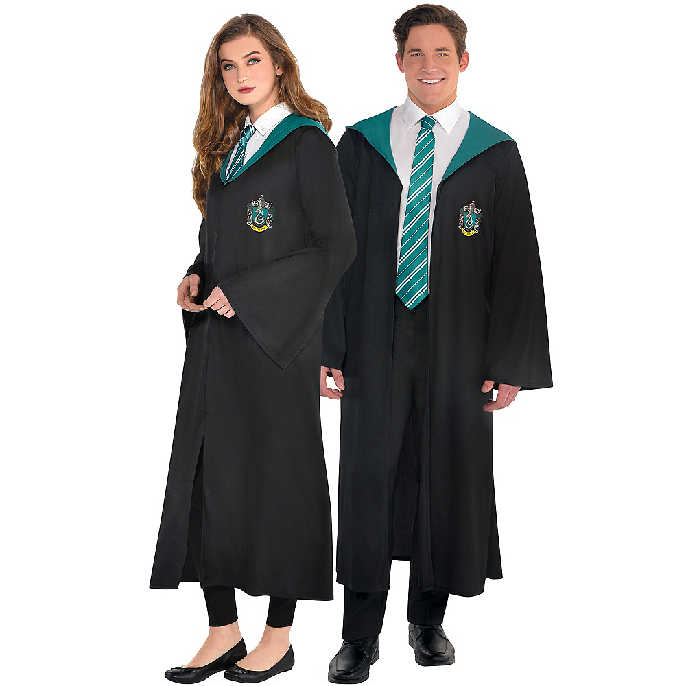 Nav Item for Adult Slytherin Robe - Harry Potter Image #1
