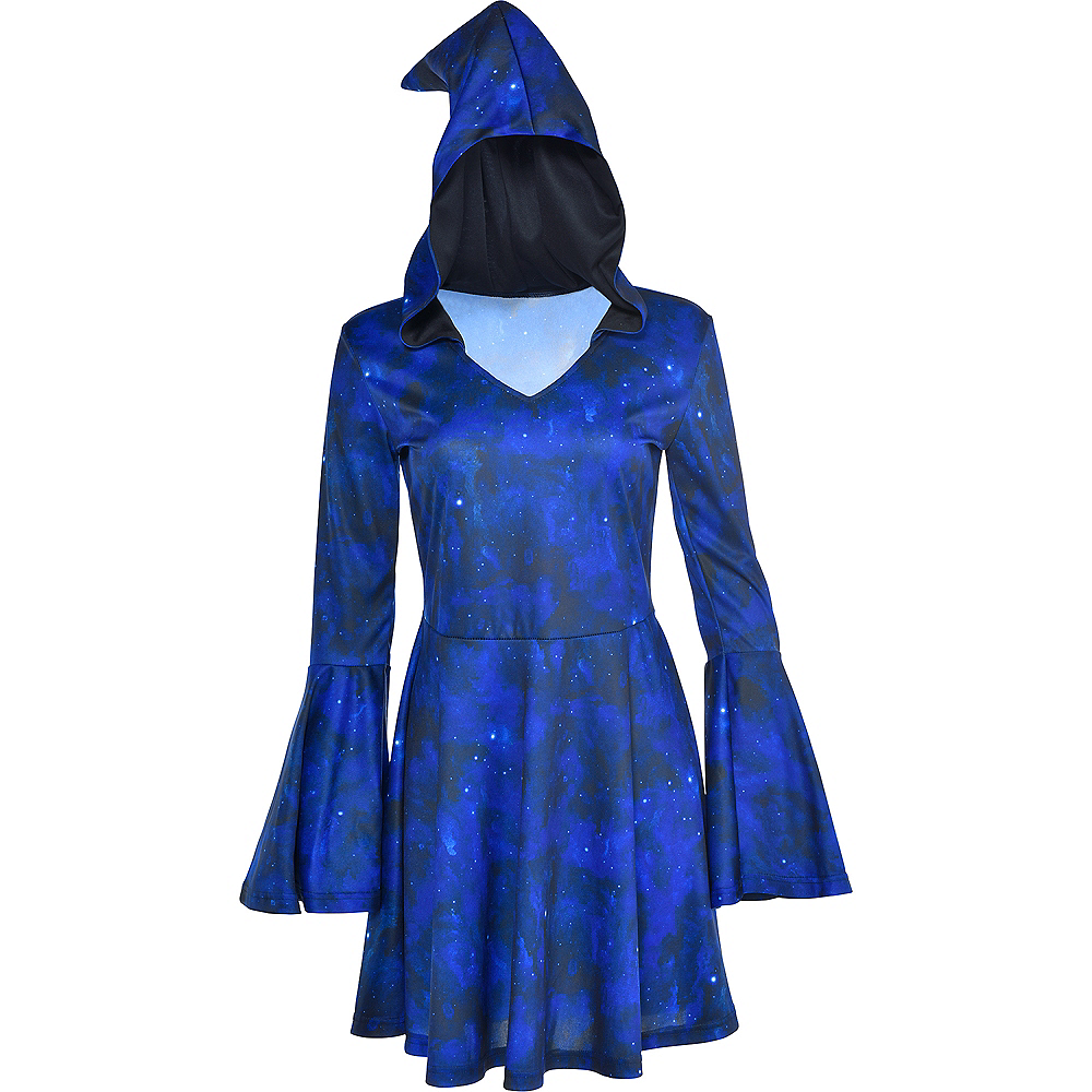 Nav Item for Adult Blue Wizard Dress Image #2