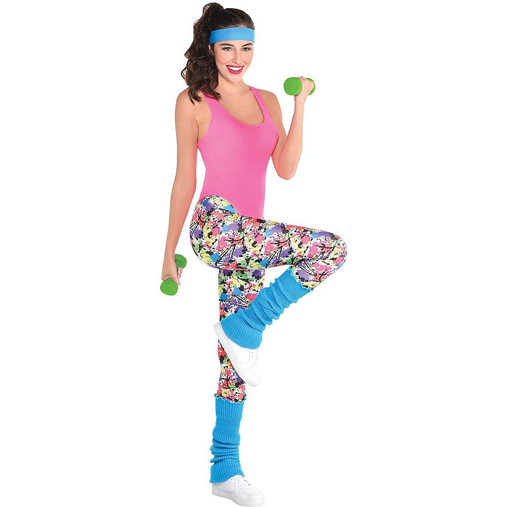 Adult Exercise Costume Accessory Kit Image #1