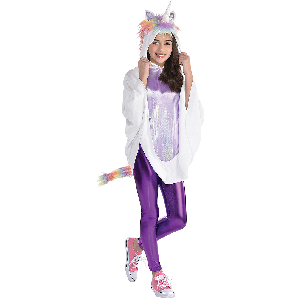 Child Unicorn Poncho Image #1