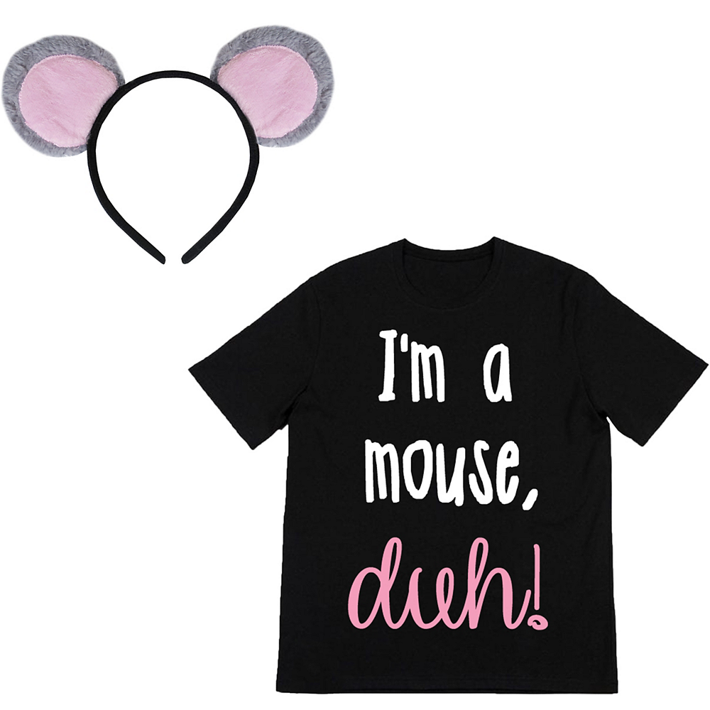 Adult I'm A Mouse Costume Accessory Kit Image #2