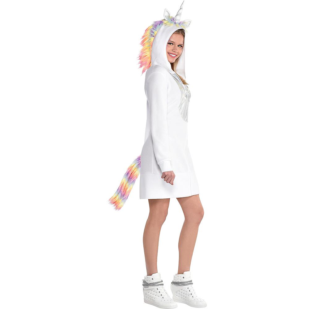 Adult Unicorn Zipster Costume Image #2