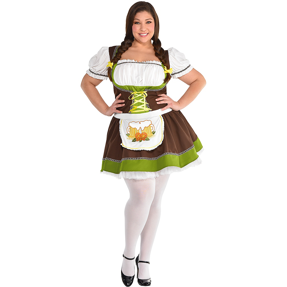 Nav Item for Adult Oktoberfest Costume Plus Size Image #1