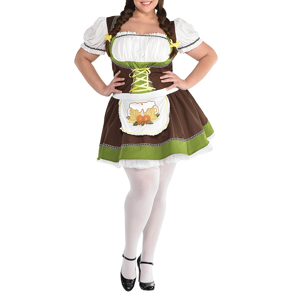 Nav Item for Adult Oktoberfest Costume Plus Size Image #2