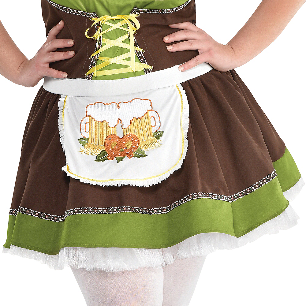 Nav Item for Adult Oktoberfest Costume Plus Size Image #3