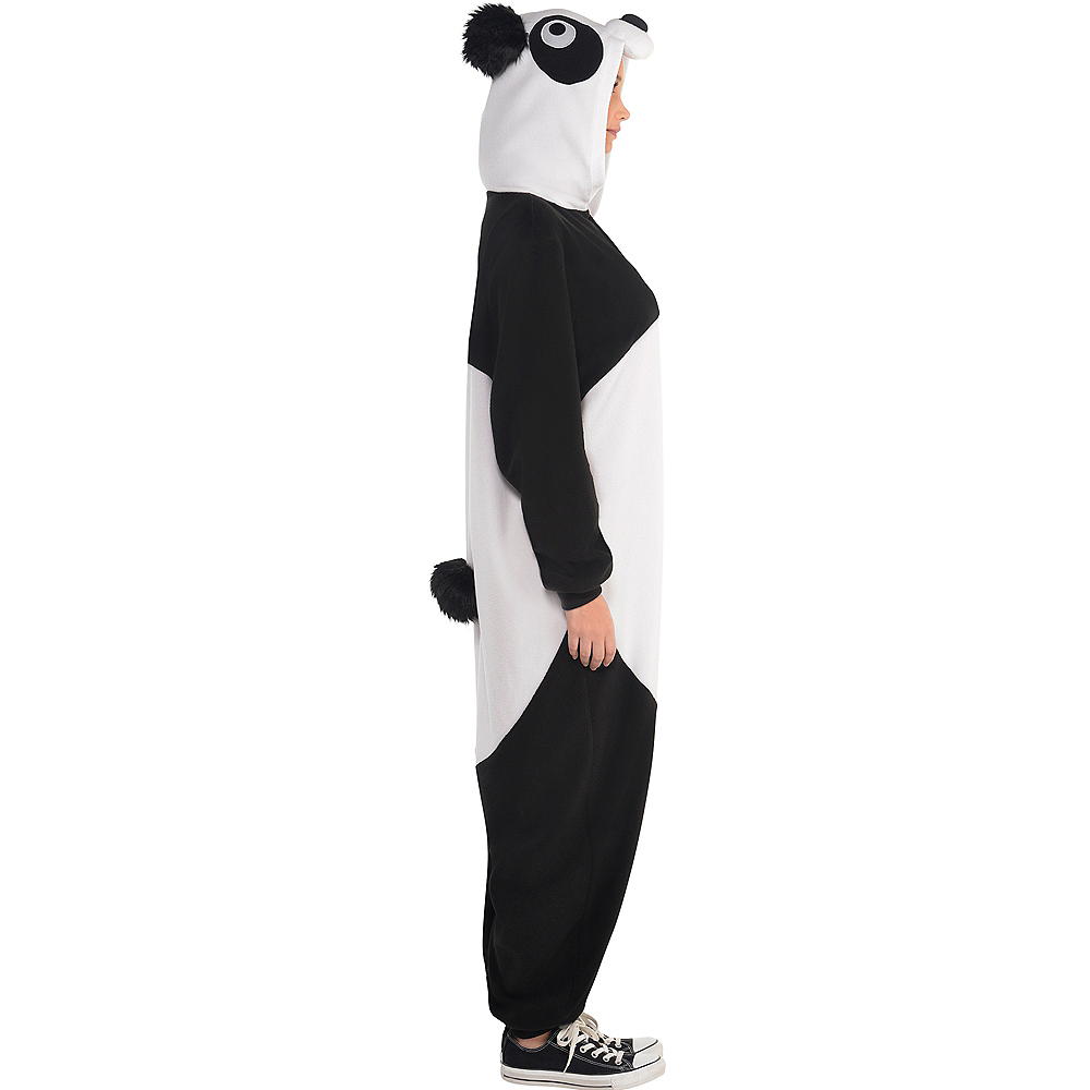 Adult Zipster Panda One Piece Costume Image #2
