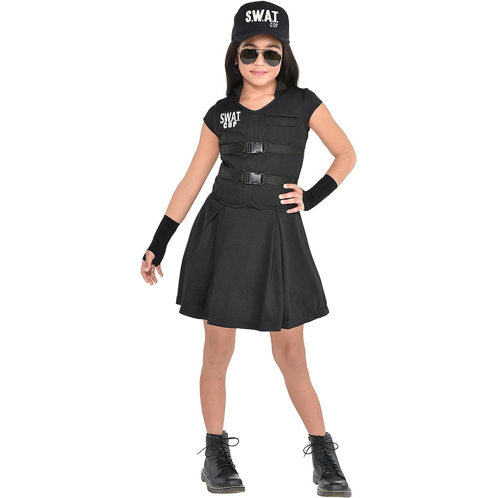 Child S.W.A.T. Cop Costume Image #1