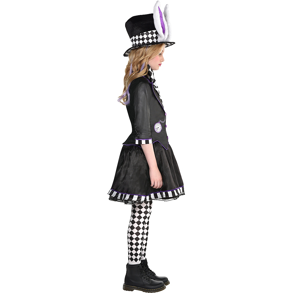 Child Dark Mad Hatter Costume Image #2