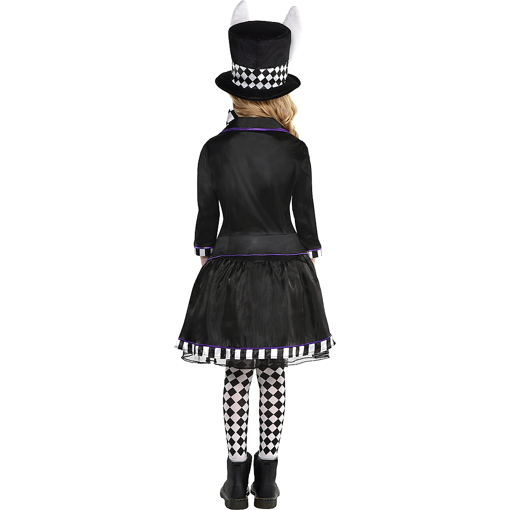 Child Dark Mad Hatter Costume Image #3