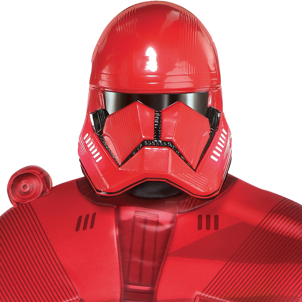 Nav Item for Adult Sith Trooper Costume Plus Size - Star Wars: Episode IX Rise of Skywalker Image #3