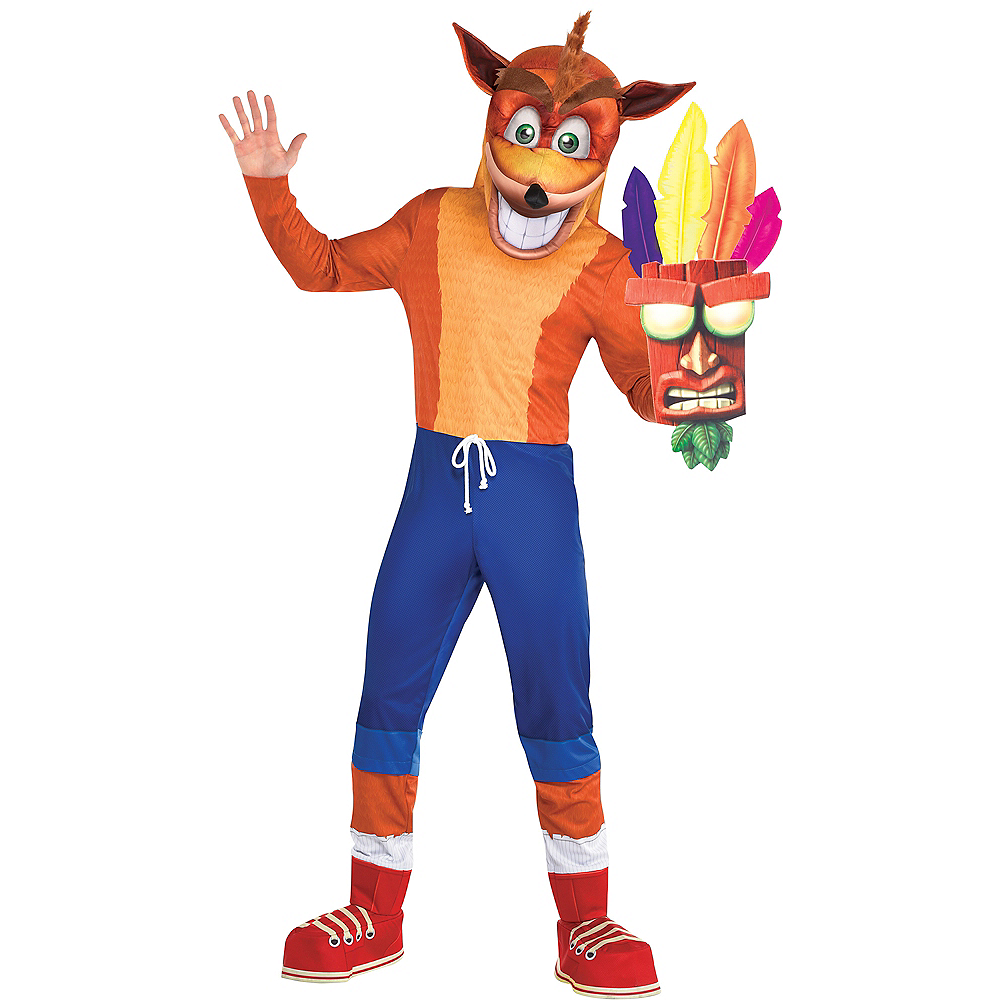 Adult Crash Bandicoot Costume Image #1
