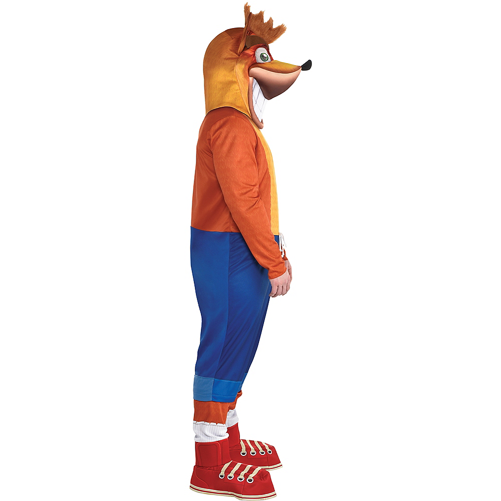 Adult Crash Bandicoot Costume Plus Size Image #3