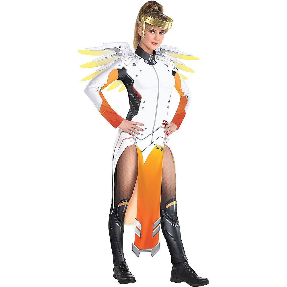 Adult Mercy Costume - Overwatch Image #1