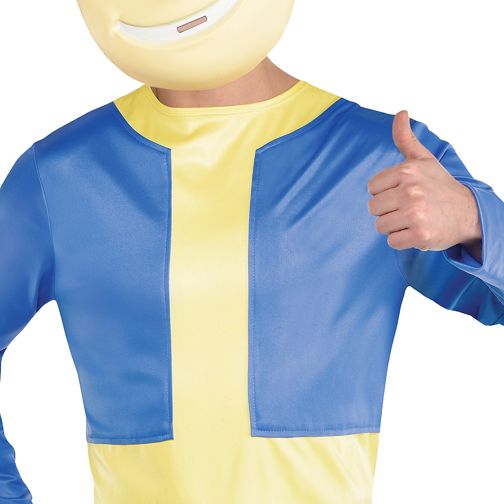 Adult Vault Boy Costume - Fallout Shelter Image #4