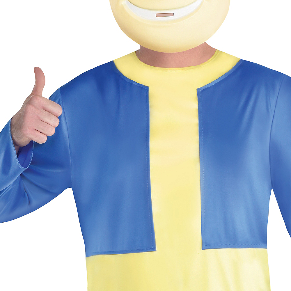 Adult Vault Boy Costume Plus Size - Fallout Shelter Image #4