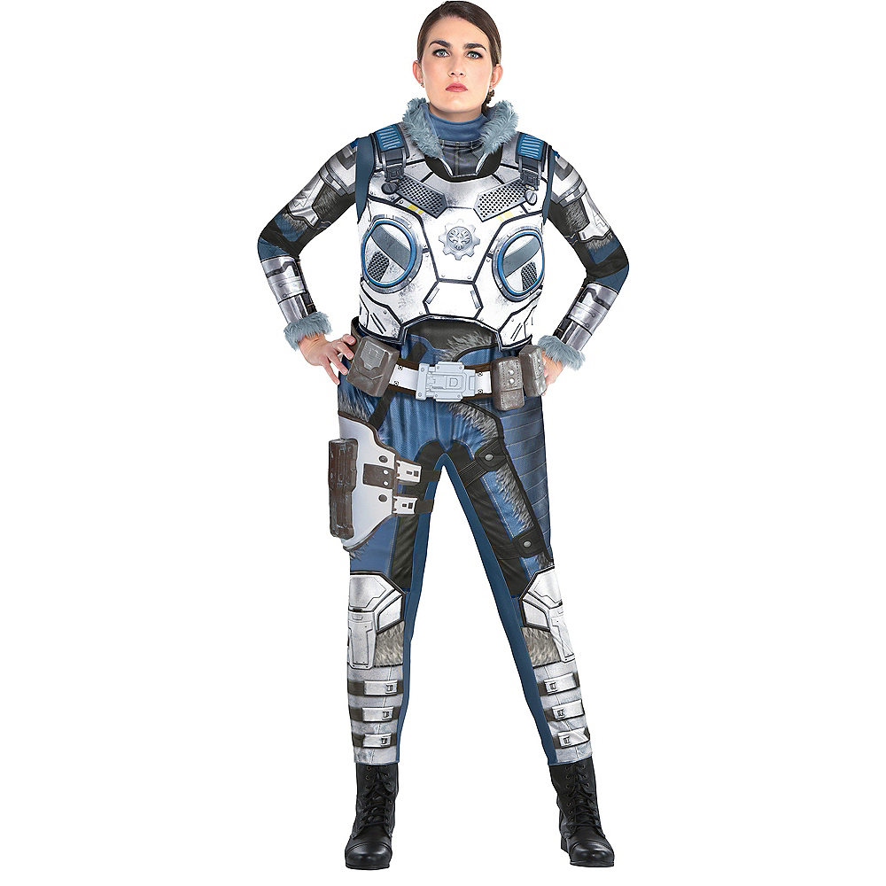 Adult Kait Diaz Costume Plus Size - Gears of War Image #1