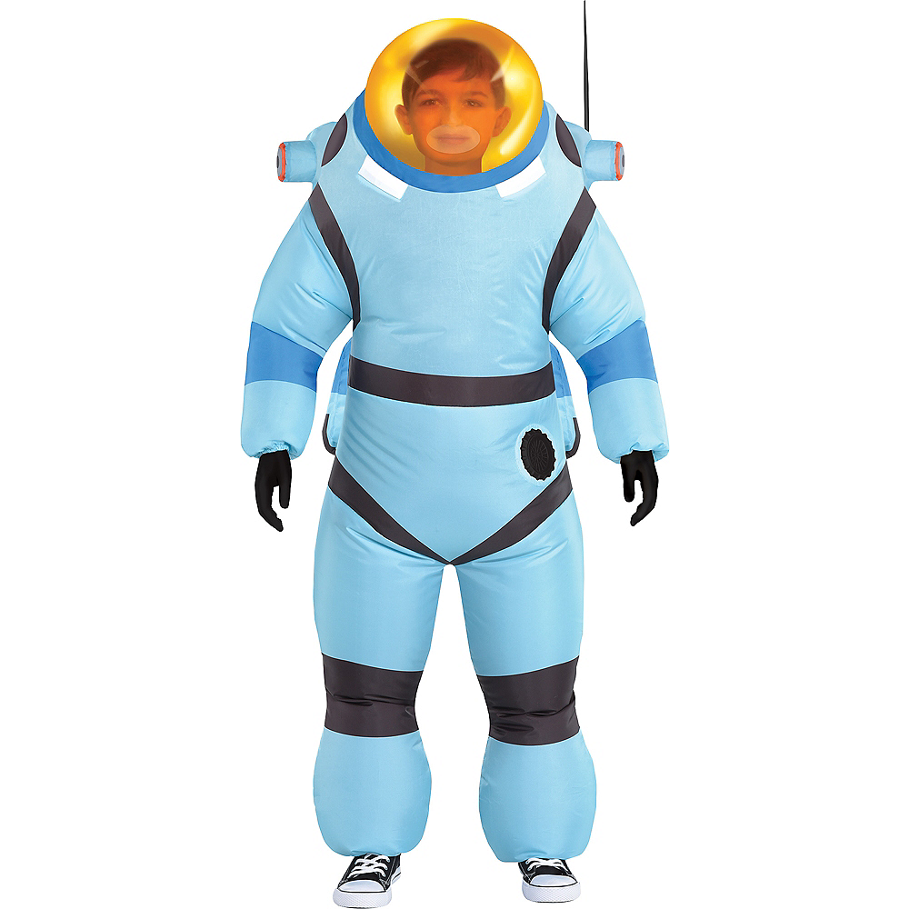 Child Inflatable Bubble Suit Costume - Astroneer Image #1