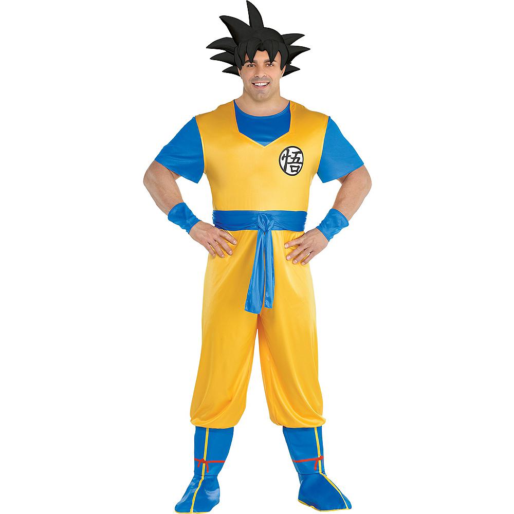 Adult Goku Costume Plus Size - Dragon Ball Z Image #1
