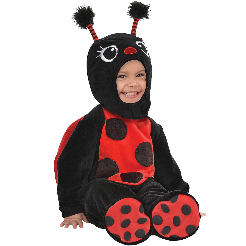 Nav Item for Baby Ladybug Crawler Costume Image #1
