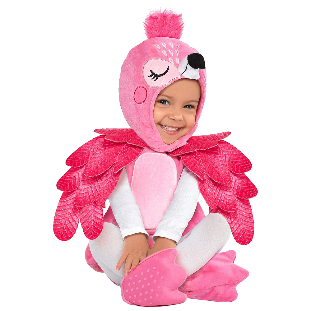 Child Flamingo Costume Image #1