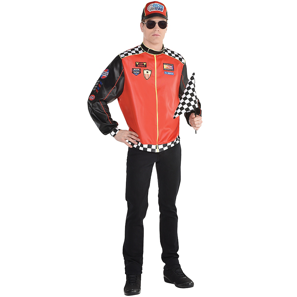 Adult Fast Lane Driver Costume Image #1