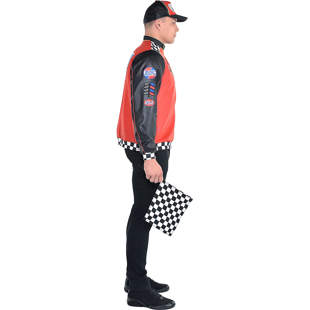 Adult Fast Lane Driver Costume Image #3