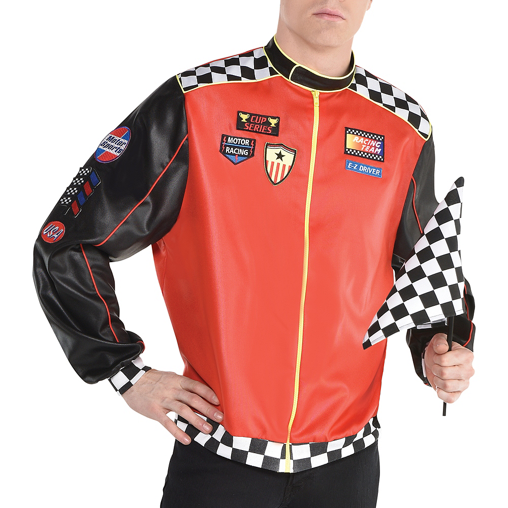 Adult Fast Lane Driver Costume Image #5