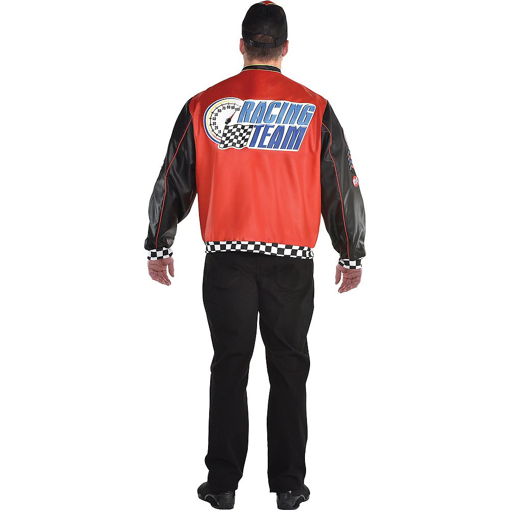 Nav Item for Adult Fast Lane Driver Costume Plus Size Image #2