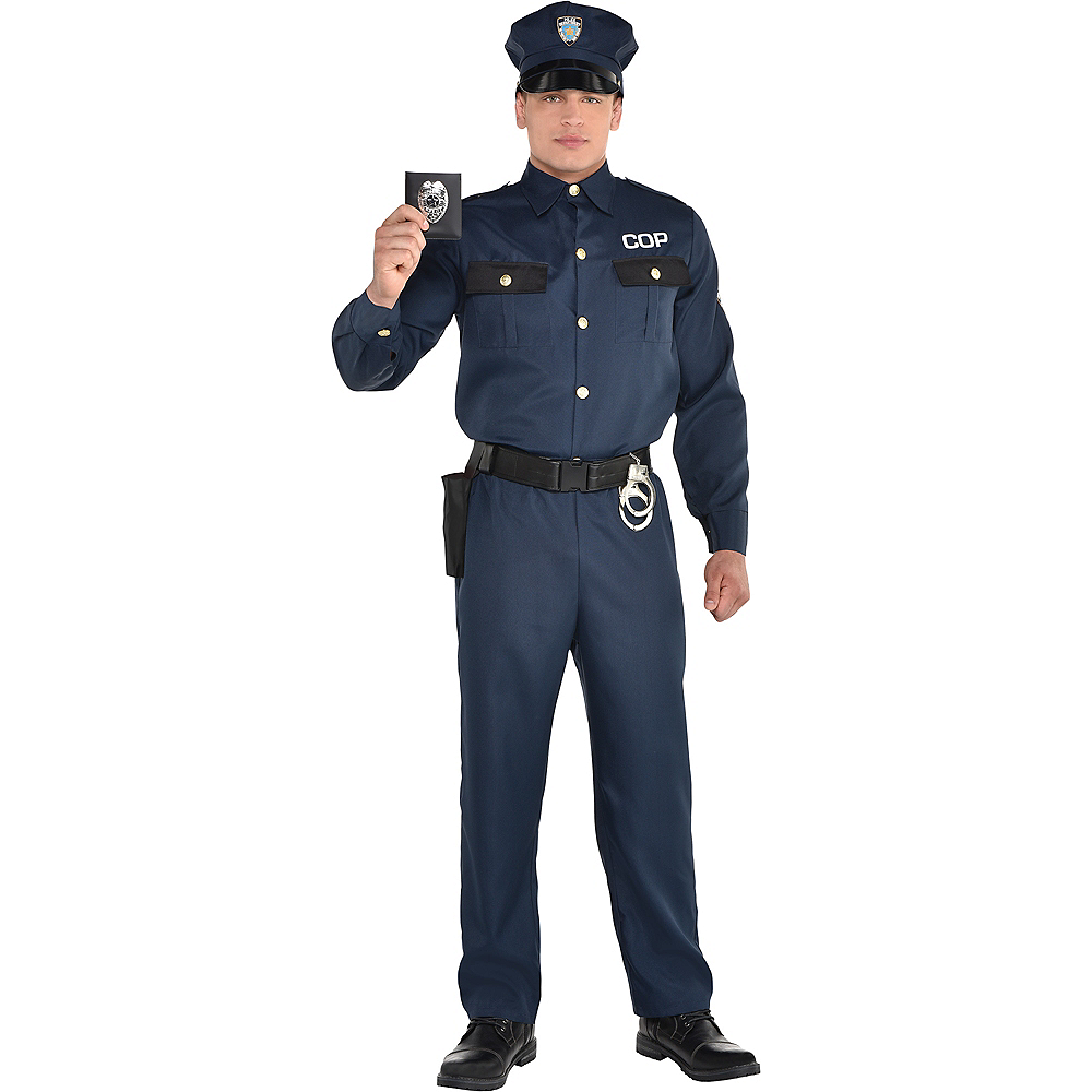 68eb6a1fd13 Adult Police Officer Costume