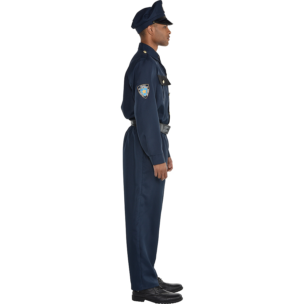 Adult Police Officer Costume Image #3