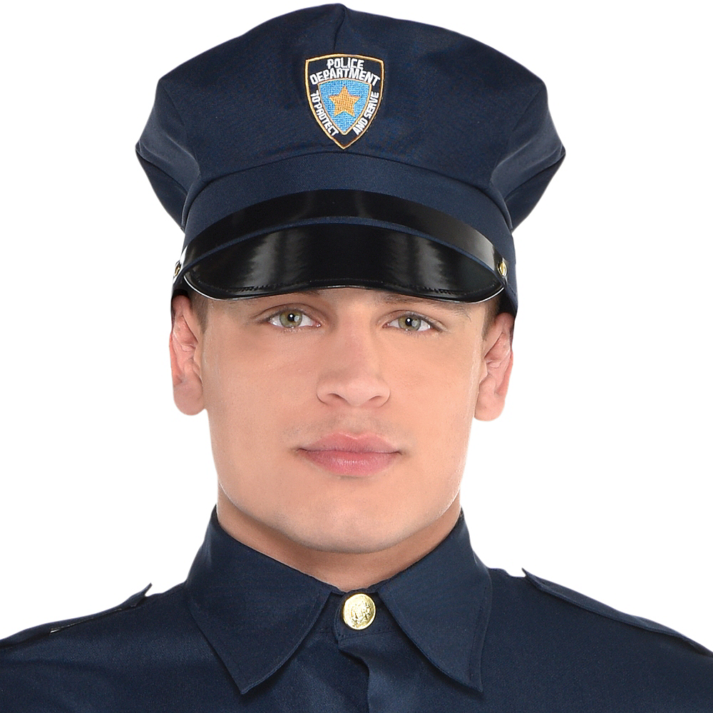 Adult Police Officer Costume Image #4