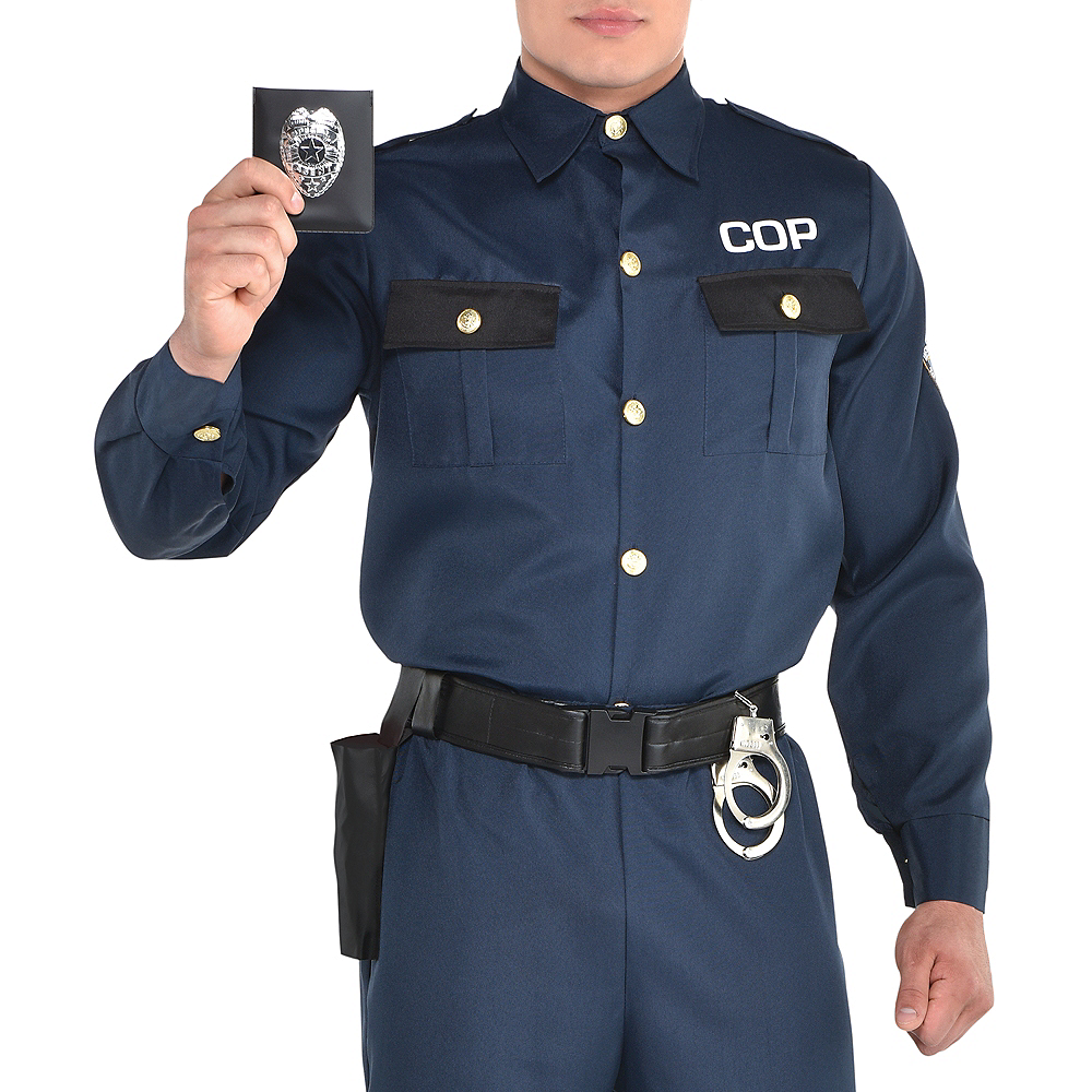 Adult Police Officer Costume Image #5