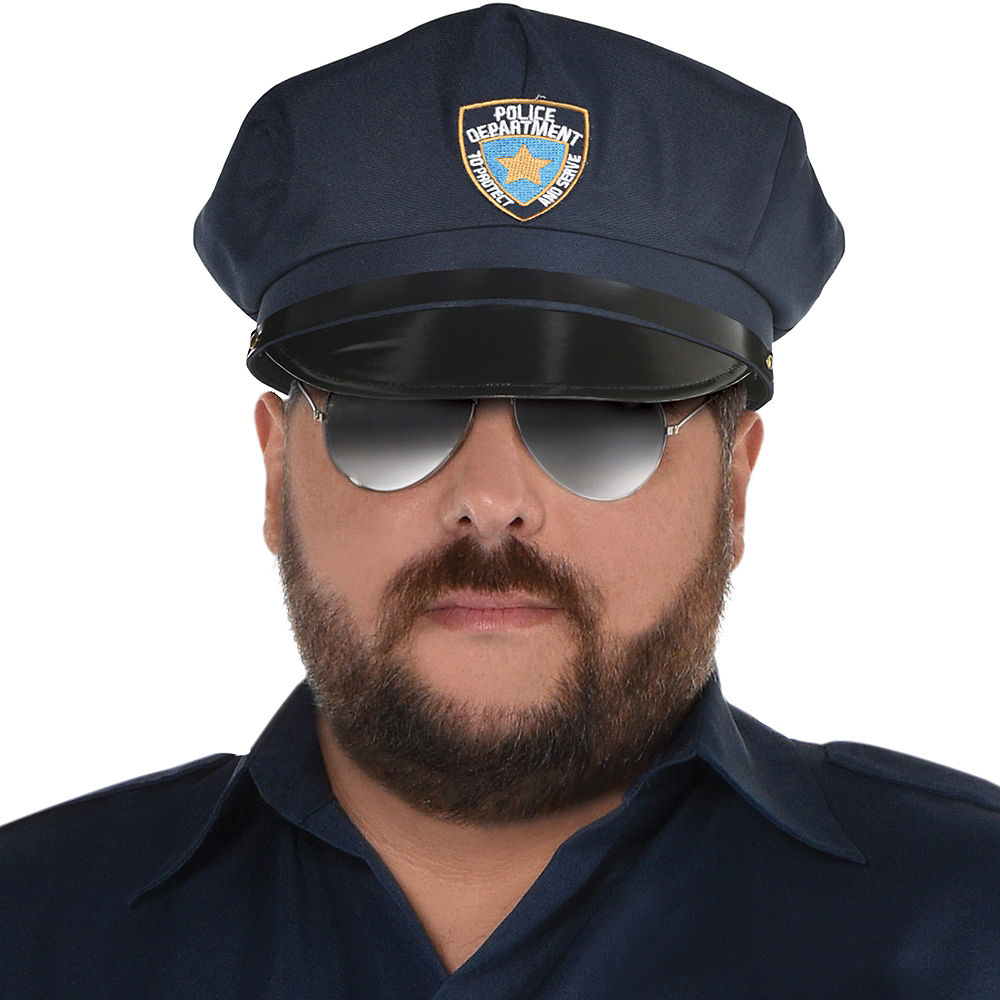 Adult Police Officer Costume Plus Size Image #2