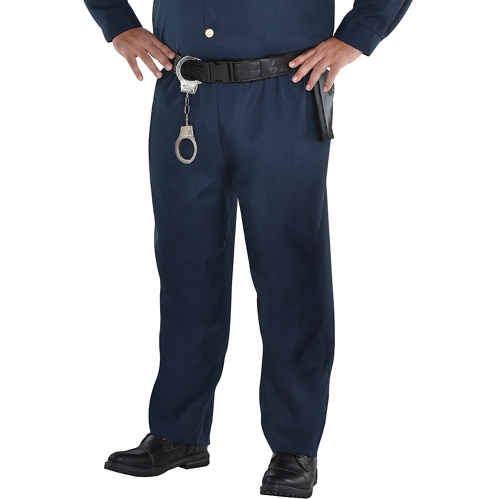 Adult Police Officer Costume Plus Size Image #4