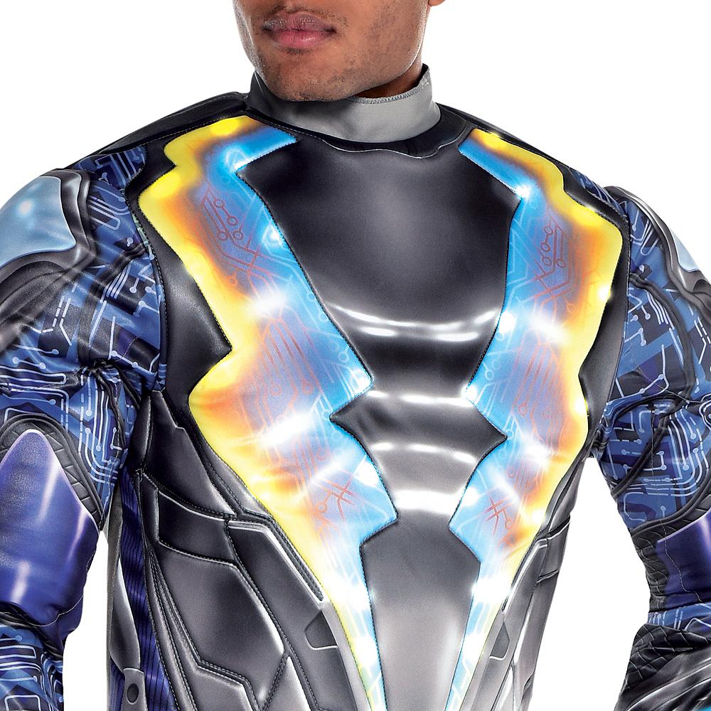 Adult Light-Up Black Lightning Muscle Costume Image #4