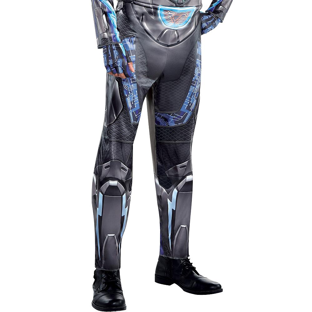 Adult Light-Up Black Lightning Muscle Costume Image #5