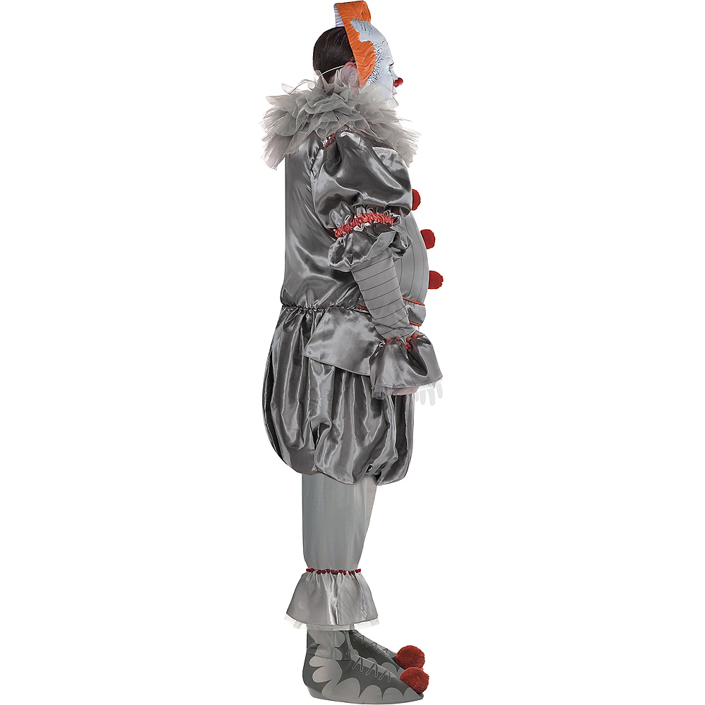 Nav Item for Adult Tattered Pennywise Costume Plus Size - It Chapter Two Image #2